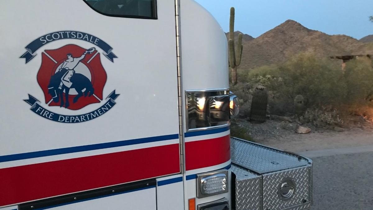 Unconscious woman taken from hiking trail