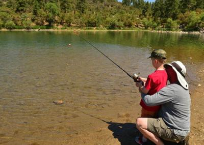 Anglers can fish Arizona waters for free on June 1  (Photo courtesy: Arizona Game and Fish Dept.)