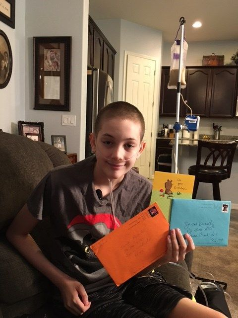 AZ teen with rare terminal illness asks for birthday cards - LOTS of birthday cards