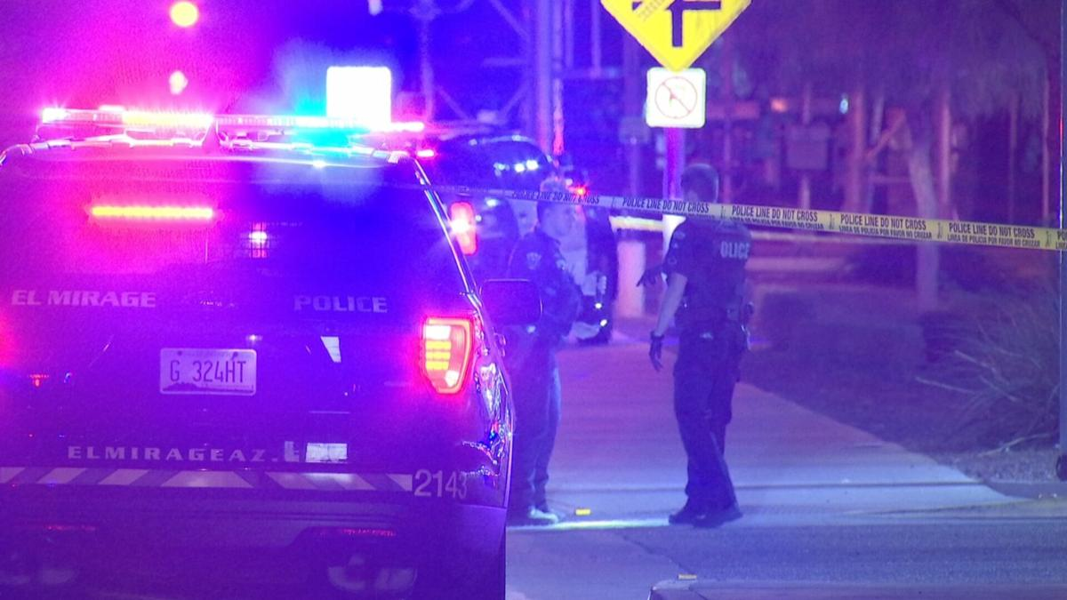 El Mirage officers shoot, wound man who allegedly tried to run them down