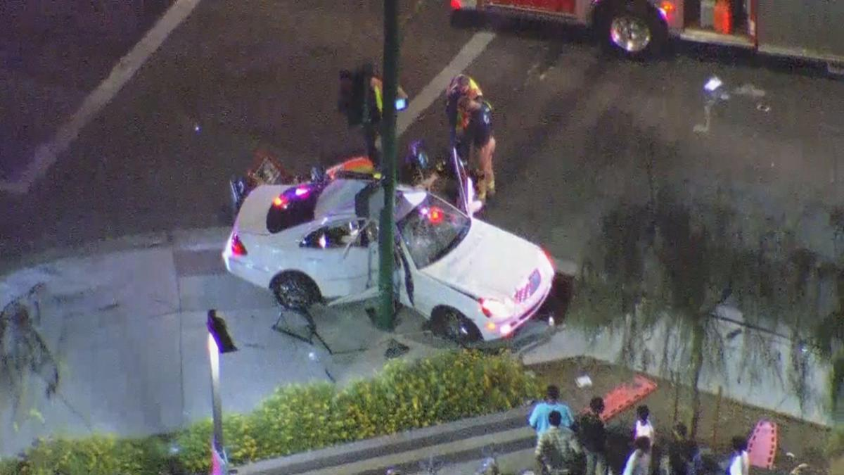 52nd Street and McDowell Crash
