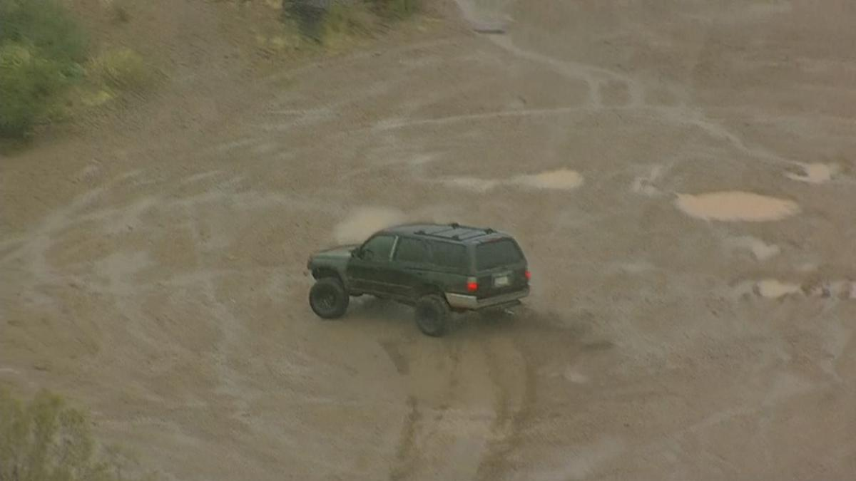 4Runner running in the mud in Apache Junction