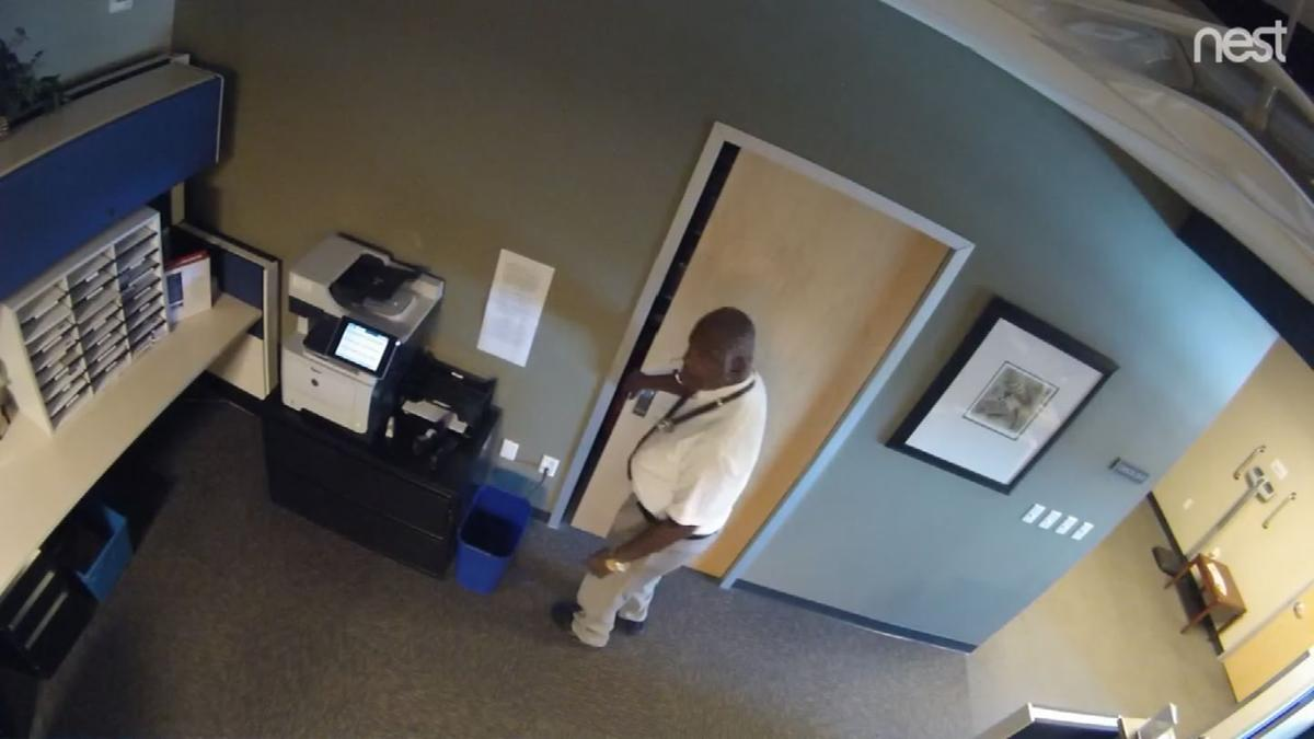 medical office thief