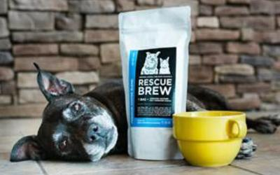 Proceeds from coffee sales will help fund life-saving vaccines for shelter animals.