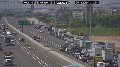 Interstate 10 dysart crash
