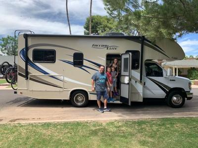 Field Trip Friday: Happy campers travel in style