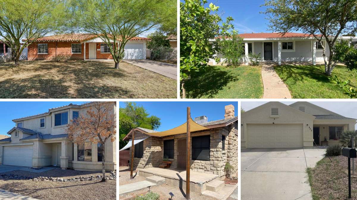 PHOTOS: Budget-friendly homes on sale for $300K around the Phoenix-area
