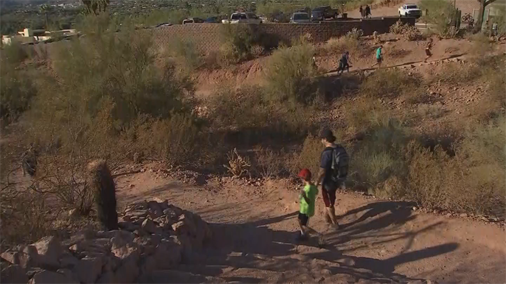Phoenix hikers caught off guard by record heat