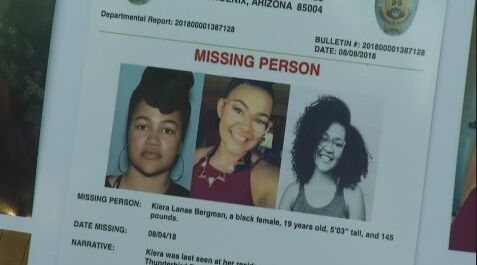 Police: Body found near SR 85 is that of young Phoenix woman missing for a month