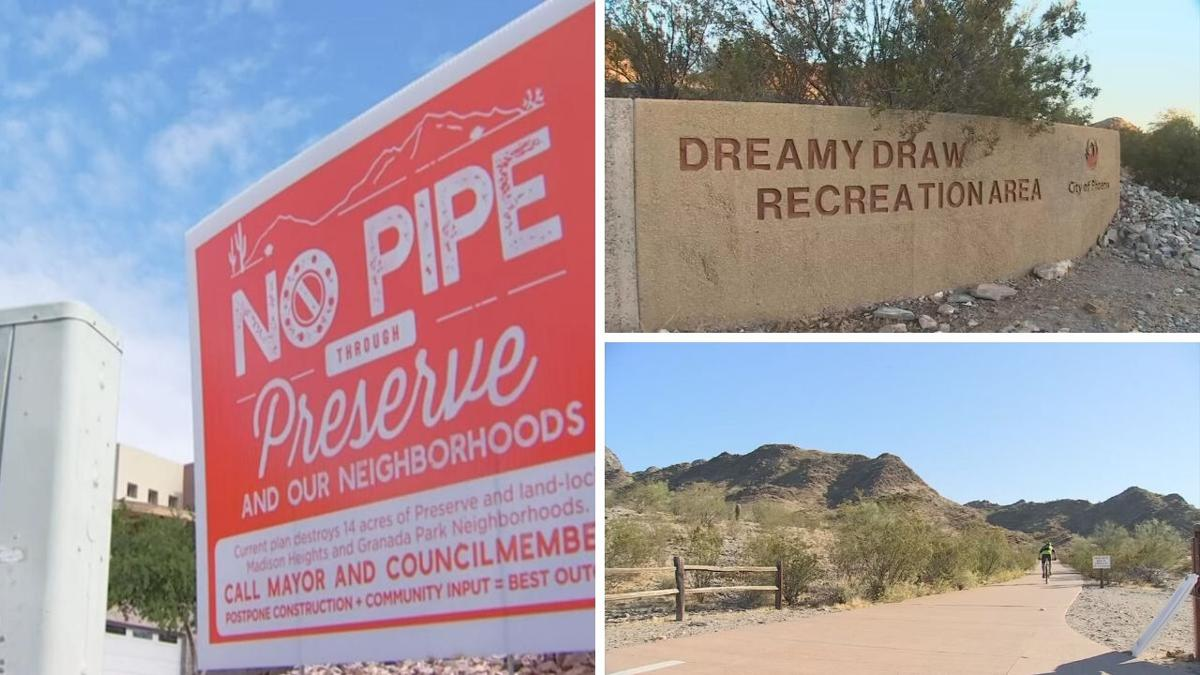 Big Phoenix water pipeline location change could be win for Dreamy Draw