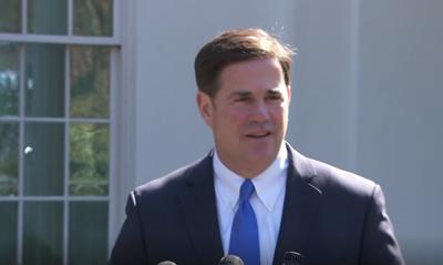 AZ Gov. Doug Ducey met with Pres. Trump in the Oval Office to discuss border issues
