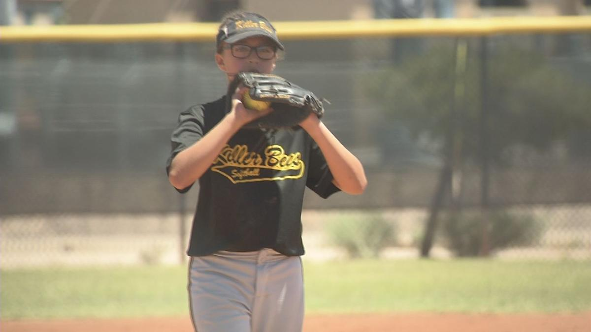 Young Killer Bees pitcher looking to be better than big sister