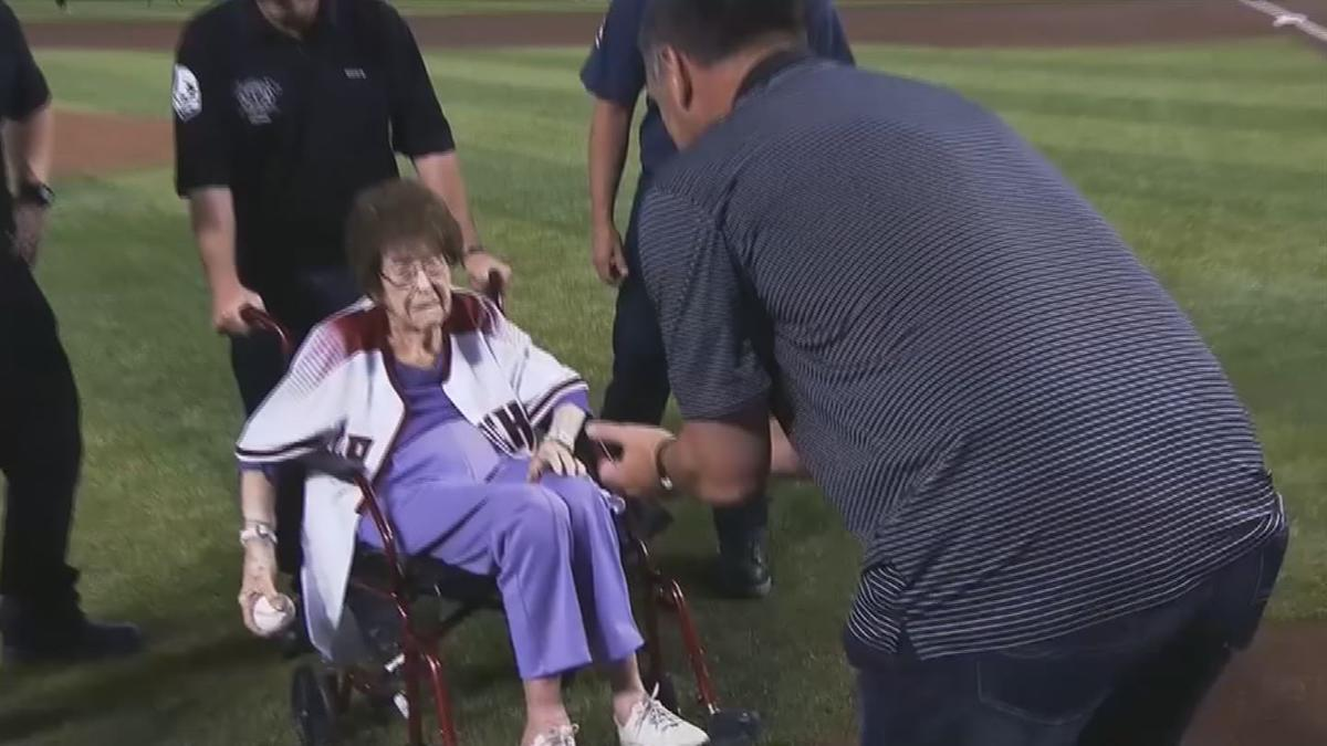 PKG- 101 THROWS FIRST PITCH 1