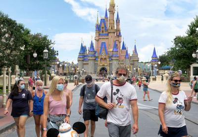 Disney World Reopens During Coronavirus