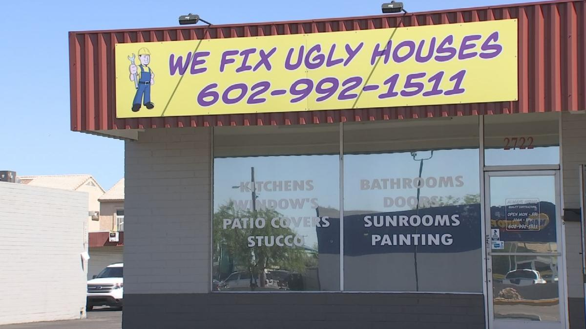 WE FIX UGLY HOUSES PKG 1