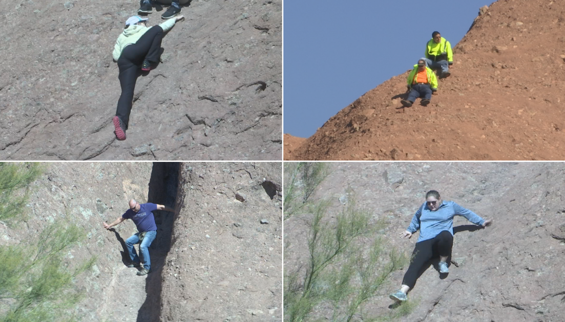 Hikers Caught Misbehaving at the 'Hole in the Rock'