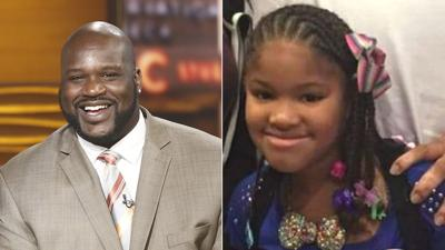 Shaquille O'Neal joins effort to help pay for Jazmine Barne's funeral