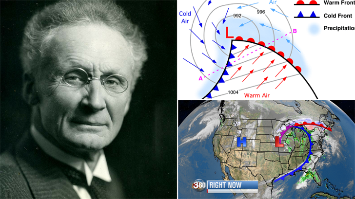 The amazing discovery of cold fronts 100 years ago