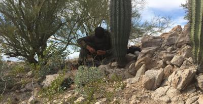 Drug cartel scouts living in mountains south of Phoenix