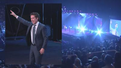 """""""No matter what comes our way in life, when we choose to have faith that we can get through things,"""" said Osteen."""