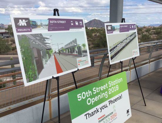 New light rail station to serve riders with disabilities