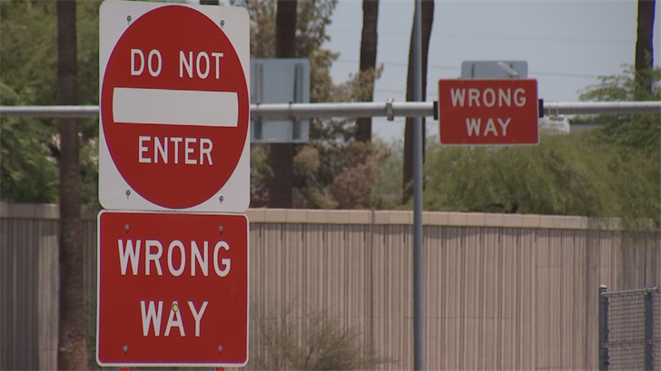 Stats show hundreds of close calls with wrong-way drivers