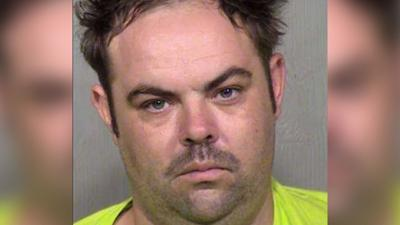 Previous mug shot of 35-year-old Brian Thomas Keck
