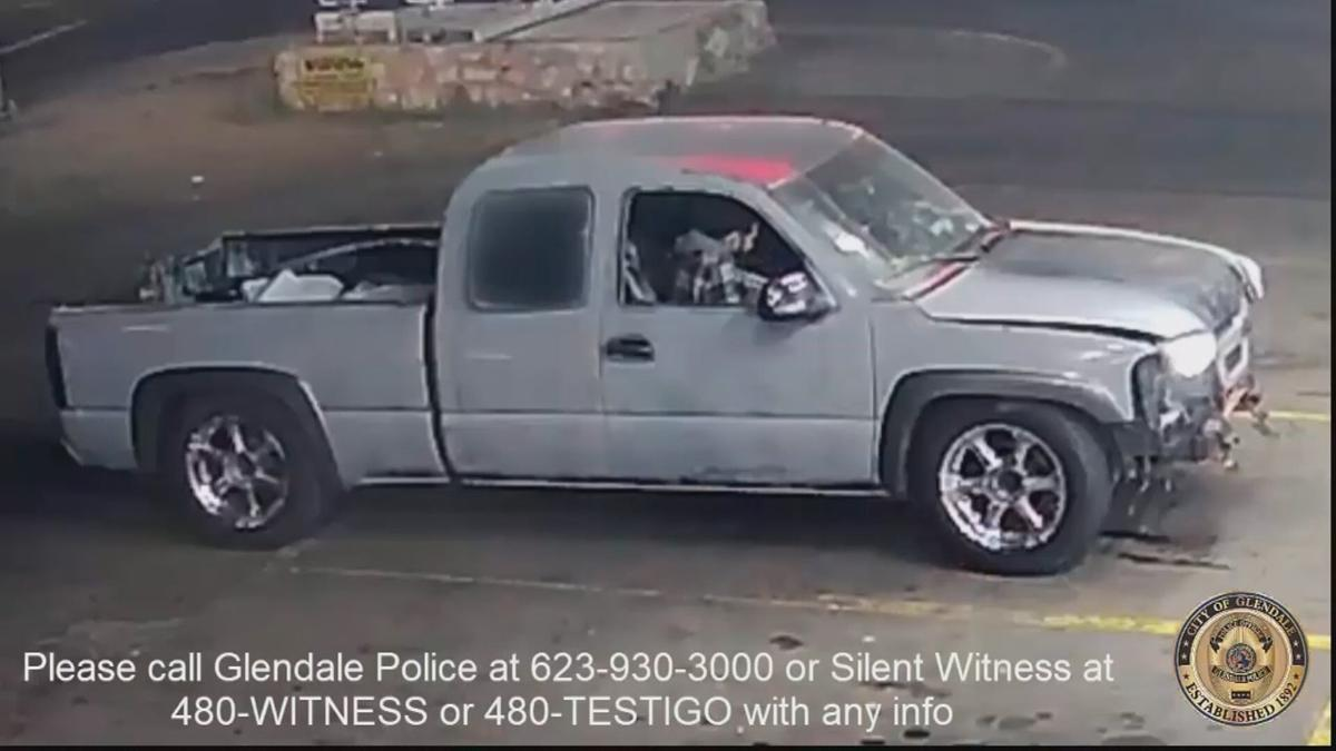 Deadly shooting suspect vehicle