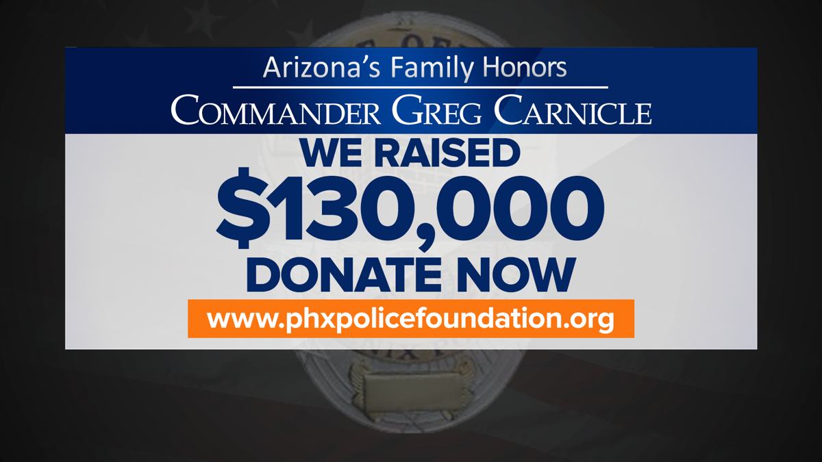 Commander Greg Carnicle fundraiser