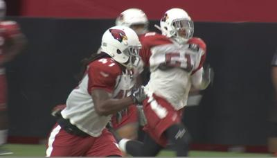 Cardinals rookie 'Ironhead' Gallon trying to make a name for himself at camp