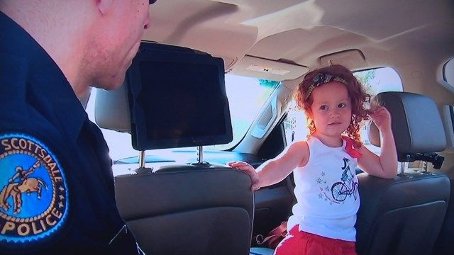 Scottsdale mom calls cops on 3-year-old daughter