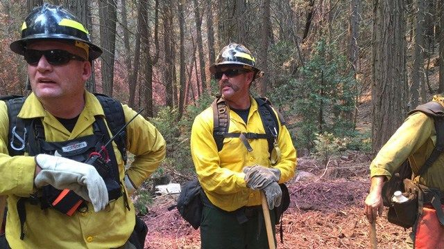 Valley firefighters sent to battle CA wildfires