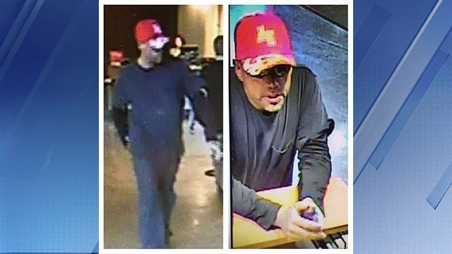 Tempe police search for bank robbery suspect