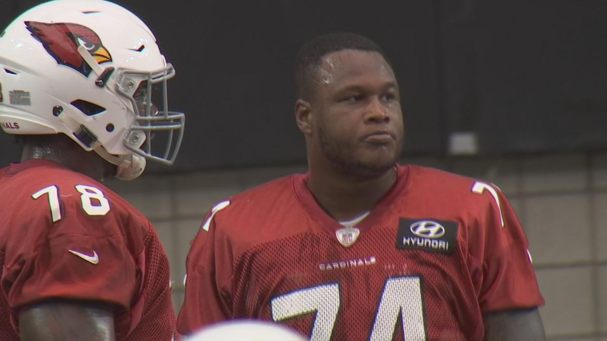 Cardinals Left Tackle D.J. Humphries leading Arizona's improved offensive line