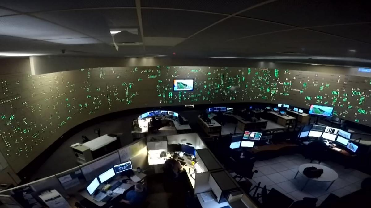SRP's control center