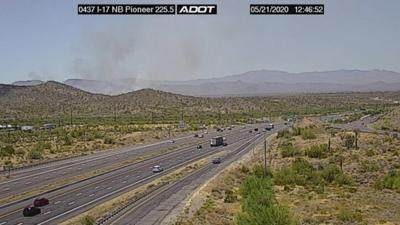 Purcell Fire Nearly 200 Acre Wildfire Burning Southwest Of Anthem