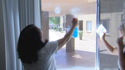 Phoenix group host 'Day of Service' to help clean seniors' apartments