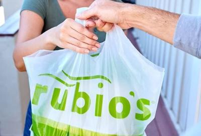Rubio's is one of the many restaurants offering deals for takeout and delivery
