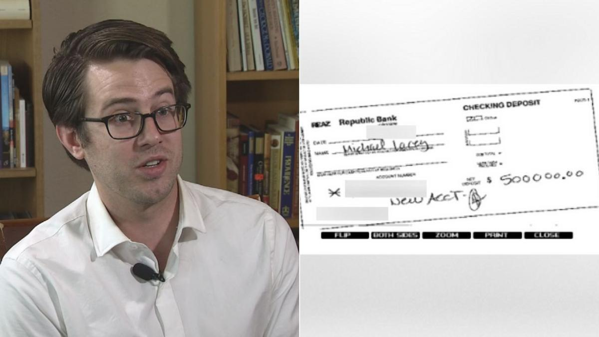 Did Backpage founder accidentally deposit $500k in Phoenix man's account?