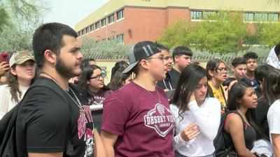 Undocumented student whose arrest sparked Arizona school walkout is back in class