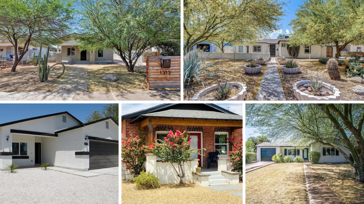 Fall in love with these 5 Phoenix homes under $450K