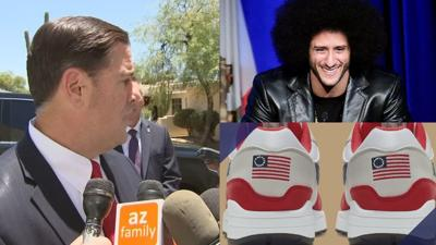 Ducey Nike shoe controversy