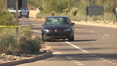 Driver hits cyclists in Scottsdale.