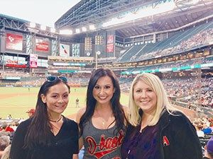 Chase Field goes green