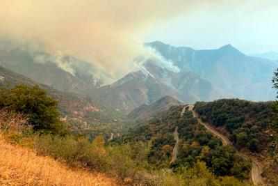 A pair of California wildfires are now threatening some of the world's largest trees
