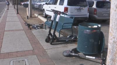 Glendale Bird electric scooters