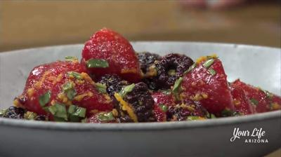 Berry dessert salad