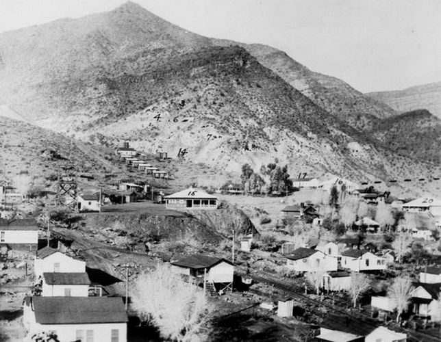 Christmas mine during it's heyday in the 1920s