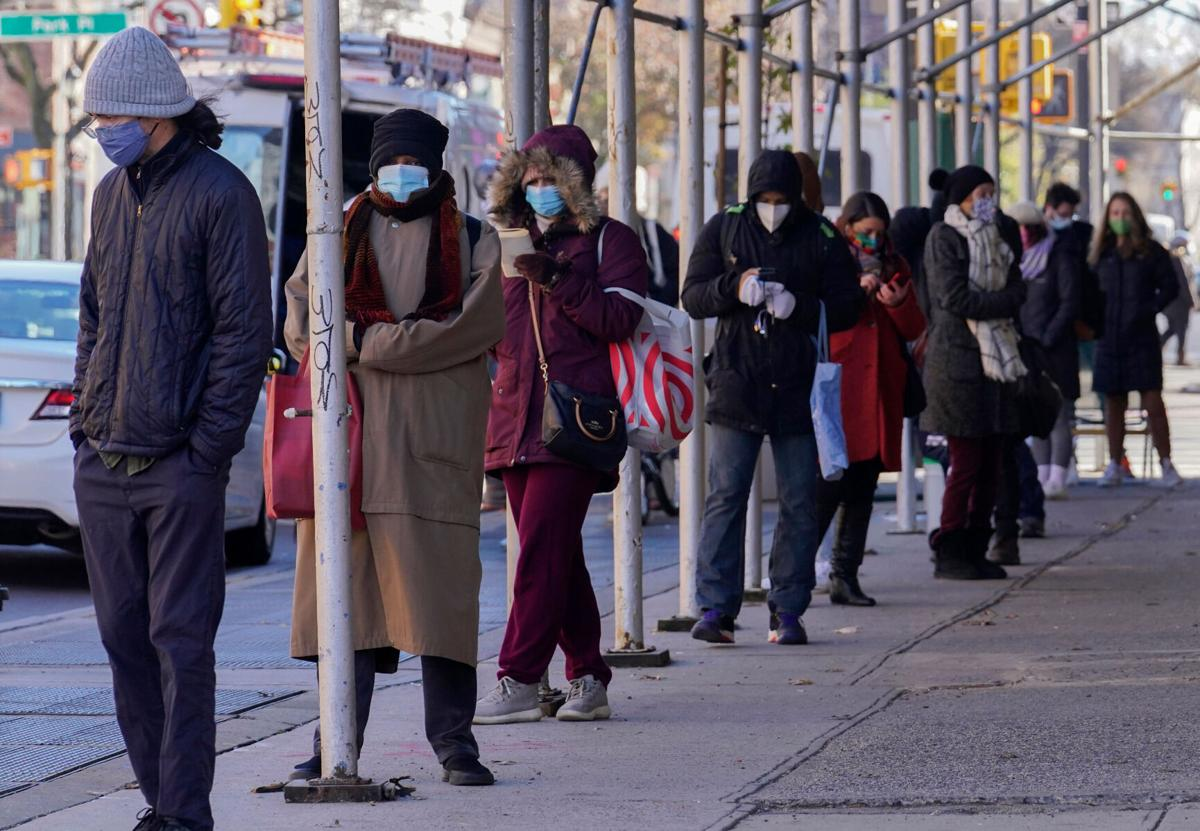 Lines to get tested for coronavirus are growing long ahead of Thanksgiving and amid rising cases