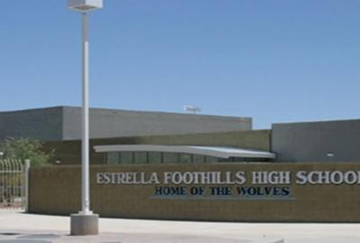 Student found with knives and gun on high school campus